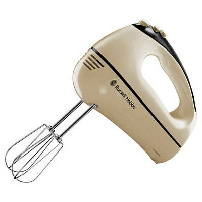 Russell Hobbs Cream Creations 3 In 1 Hand Mixer With Storage Bag 5 Speed 300W