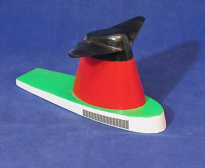 """S.S. FRANCE Winged Funnel Souvenir - 3.5"""" Tall - Wood -NAUTIQUES sHiPs WORLDWIDE"""