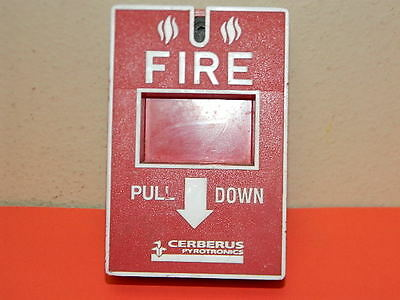 Cerberus Pyrotronics Ms-151 Non-Coded Fire Alarm Pull Station.