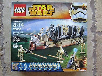 LEGO 75086 STAR WARS BATTLE DROID TROOP CARRIER - NEW IN SEALED BOX ...