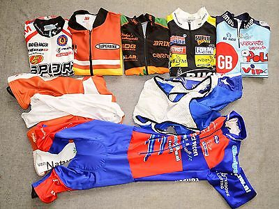 Shirts, Shorts, Skinsuit, Cycling Clothes Lot, Bio-Racer, Vermarc, Agu