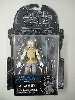 Moc 2014 Hasbro Star Wars The Black Series #02 Luke Skywalker Action Figure