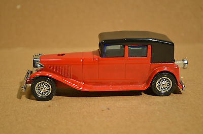 WACO Die-cast Classic car butane gas lighter Model 1927 Rolls Royce 1/30 scale
