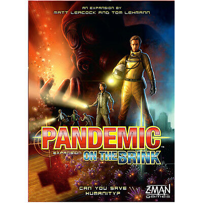 Pandemic On The Brink Expansion - Z-Man Games - New Board Game