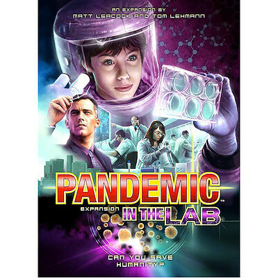Pandemic In The Lab Expansion - Z-Man Games - New Board Game