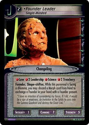 Star Trek CCG 2E What You Leave Behind The Phage 14R18