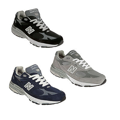 pretty nice 5bf1f 950da MEN'S NEW BALANCE MR993 Running Shoe MR993BK MR993GL MR993NV D 2E 4E USA  Made