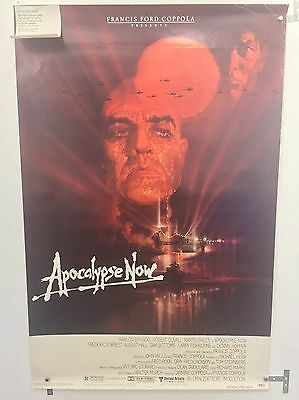 Apocalypse Now Original One Sheet Movie Poster. Academy Voter Backstory! Rolled