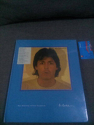 Paul McCartney McCartney II 3 CD + DVD Archive Collection SUPER DELUXE EDITION