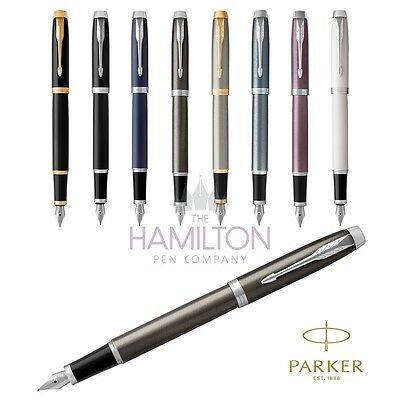 PARKER IM FOUNTAIN PEN - Full range of 8 exclusive finishes available