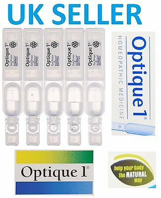 Boiron Optique 1 Eye Drops Irritation Hayfever/Relief/Itchy/Allergy/Red/Burning5