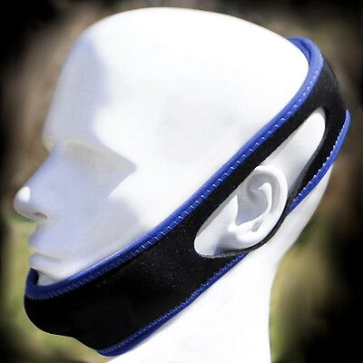 No Snoring Chin Strap Snore Belt Anti Apnea Jaw Solution Sleep TMJ Support AX
