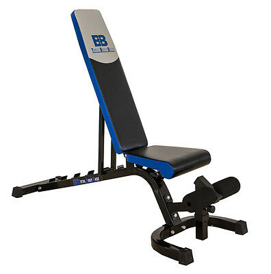 Total Body Base Adjustable Weight Bench FID Utility Incline Flat Decline Lifting