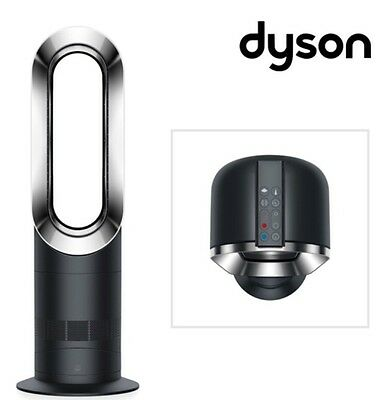 BRAND NEW Dyson AM09 Black/Nickel Hot + Cool Jet Focus Electric Fan Heater