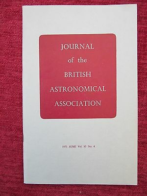 1973 Journal Of The British Astronomical Association June Vol 83 No.4 uc4