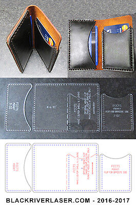 2 Or 4 Pocket Credit Card Wallet - Many Assembly Options  Easy To Make -  Fccts