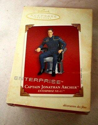 Hallmark Keepsake Ornament - Star Trek Enterprise Captain Jonathan Archer 2003