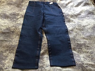 Womens 1950s Deadstock Blue Bell 10oz Denim Jeans W/ Tags Size 32 Waist  NOS NWT