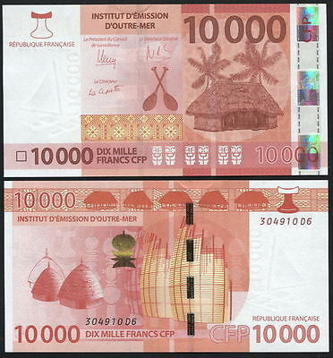 French Polynesia. 10000 francs (Unc) 2014. Banknote Cat# P.NL