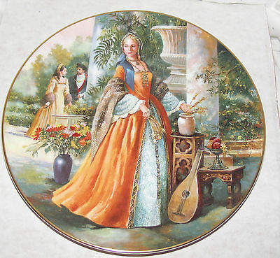 Bnib Royal Doulton Collectors Gallery Jane Seymour Plate Pn97 Wife Henry Viii
