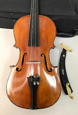 Vintage 1953 Russian USSR Violin/bundle with Case factory musical instrument
