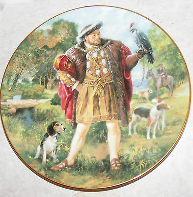 Bnib Royal Doulton Collectors Gallery King Henry Viii Pn96  Plate