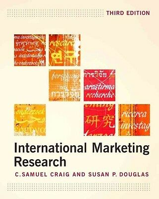 International Marketing Research by Samuel Craig Paperback Book (English)