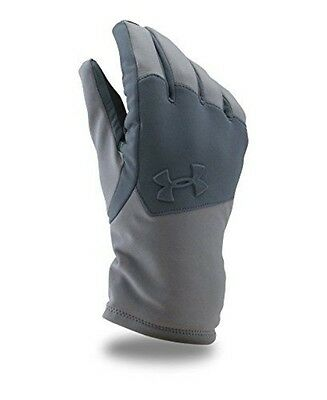 Under Armour Men's ColdGear Infrared Softshell Gloves, Graphite (040), Small