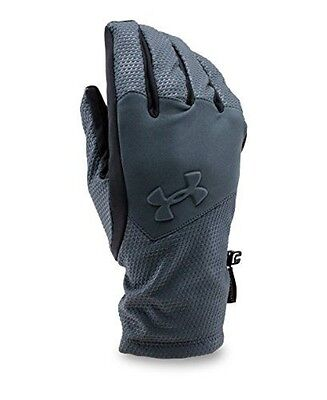 Under Armour Men's ColdGear Infrared Softshell Gloves, Stealth Gray (008), Large