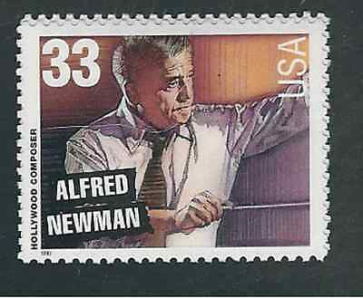 Scott #3343...33 Cent.. .Hollywood Composers...Newman... 25 Stamps