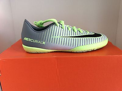 Nike Jr MercurialX Vapor XI IC Indoor Soccer Court Shoes Youth Sizes.
