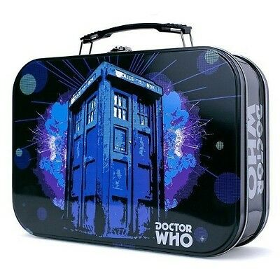 Ikon Collectables Doctor Who - Tardis Explosion Retro Lunchbox