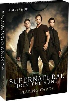 Cryptozoic Entertainment Supernatural - Playing Cards Deck A