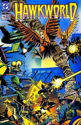 Hawkworld #14 (Aug 1991, DC)