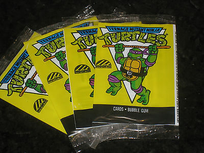 Teenage Mutant Ninja Turtles Donatello Cartoon Card Wrapper Regina 1989 TMNT