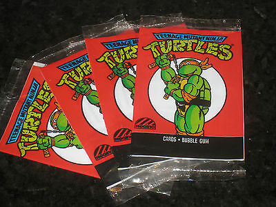 Teenage Mutant Ninja Turtles Michaelangelo Cartoon Card Wrapper Regina 1989 TMNT