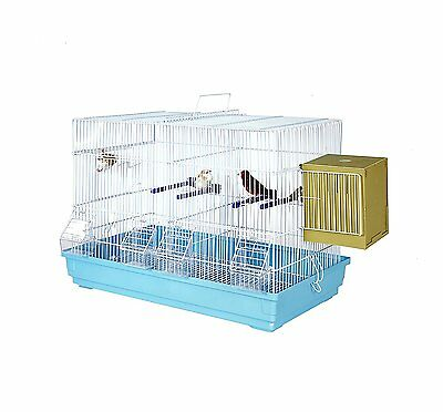 Kookaburra Pecan - Double Wire breeding cage for - Budgies - Canary - Finch