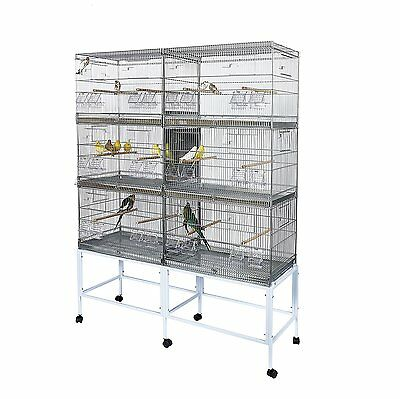 Kookaburra Apple - Bird Breeding Cage For Canary Budgie Parakeets Cockatiels etc