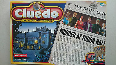 Cluedo Board Game  by Waddingtons 2000