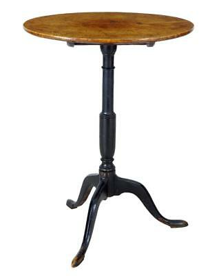 19Th Century Alder Root Small Tripod Wine Table