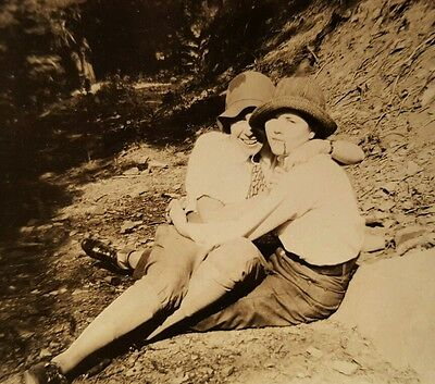 Vintage Vernacular Photography Lesbian Int Artistic Snapshot Found Old Photo