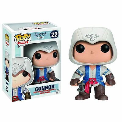 ASSASSINS CREED FUNKO POP Figurine CONNOR 9 cm