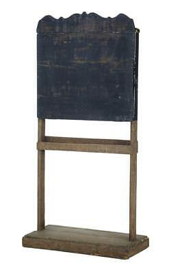 19Th Century Rustic Swedish Childrens Blackboard