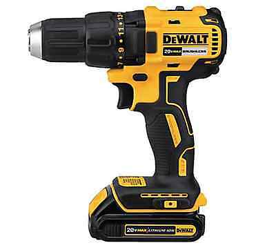 DCD777C2 20V MAX Compact 1/2-in Cordless, Brushless Drill, Lithium Ion Battery