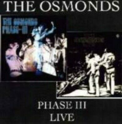 The Osmonds, The Osmond Boys - Phase III: Live [New CD]