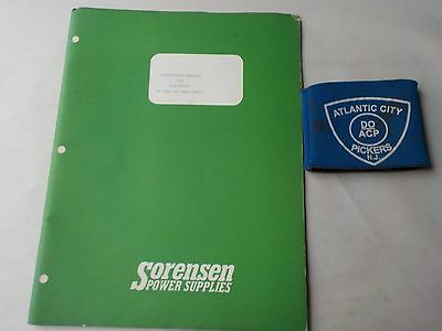 Sorensen Qsb Series 25- And 50- Watt Units Instruction Manual