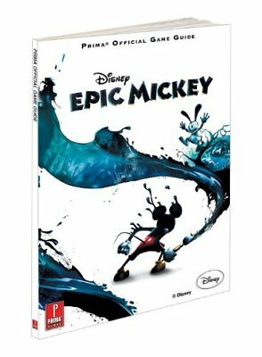 Disney Epic Mickey Official Game Guide by Prima Games Paperback Book The Cheap