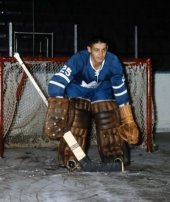 Terry Sawchuk Toronto Maple Leafs  Unsigned 8x10 Photo