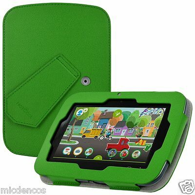 """LeapFrog Epic Case, PU Leather W/Kickstand Cover Case For LeapFrog Epic 7""""Tablet"""