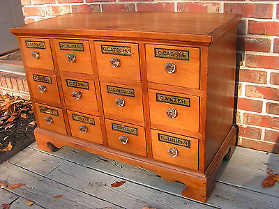 EXCEPTIONAL ANTIQUE 19c APOTHECARY CABINET pharmacy medical doctor medicine